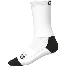 Alé Cycling Team Q-Skin Socks 18cm Men, white